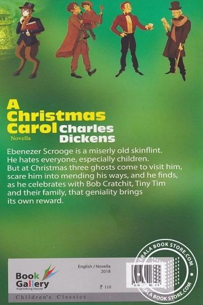 back image of A Christmas Carol