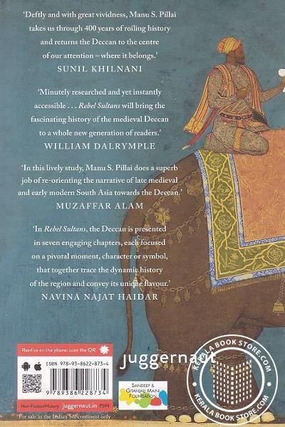 back image of Rebel Sultans