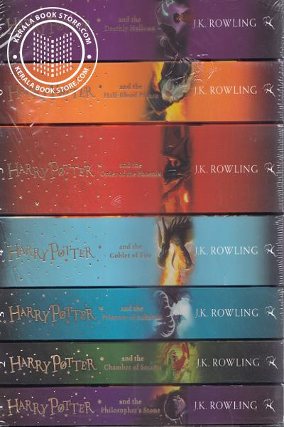 Cover Image of Book Harry Potter The Complete Collection Vol- 1 to 7