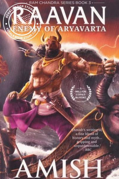 Cover Image of Book Raavan- Enemy of Aryavarta