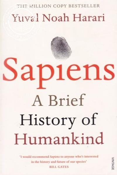 Cover Image of Book Sapiens Sapiens A Brief History of Humankind