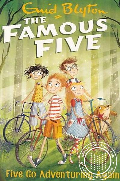 Cover Image of Book The Famous Five -2 Five go Adventuring Again