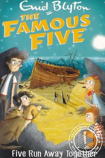 Cover Image of Book The Famous Five -3 Five Run Away Together