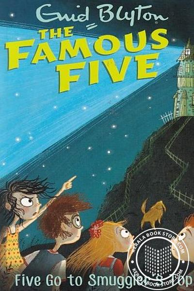 Cover Image of Book The Famous Five -4 Five go Smugglers Top