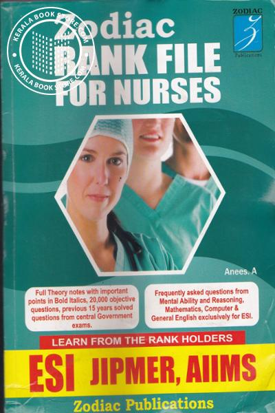 Cover Image of Book Zodiac Rank File For Nurses