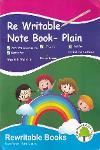 Thumbnail image of Book Re Writable Note Book - Plain