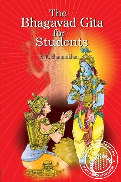 Cover Image of Book Bhagavad Gita for Students