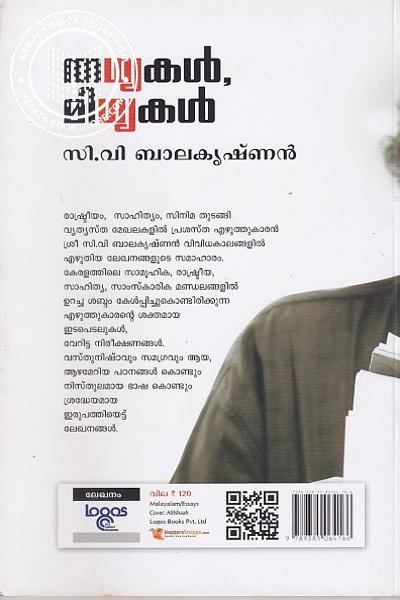 back image of തഥ്യകള് മിഥ്യകള്