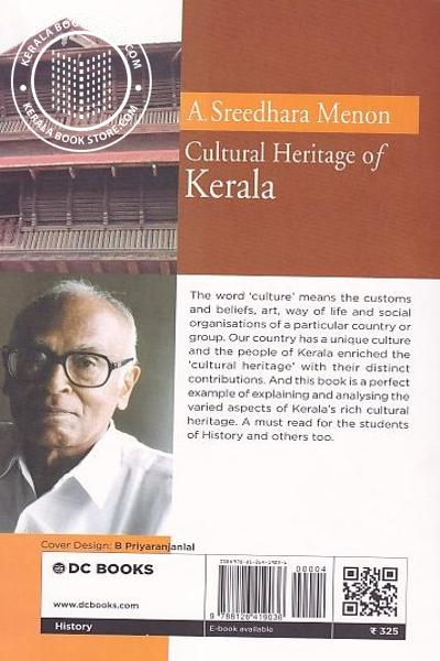 back image of Cultural Heritage of Kerala