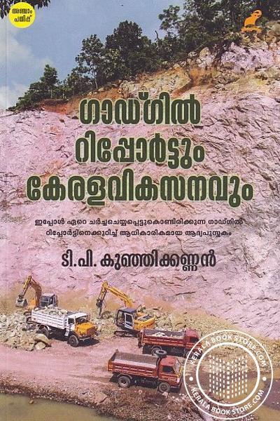 Cover Image of Book ഗാഡ്ഗില് റിപ്പോര്ട്ടും കേരളവികസനവും