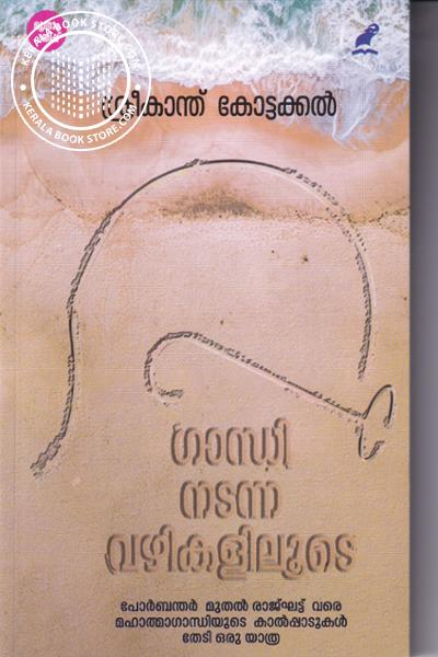 Cover Image of Book ഗാന്ധി നടന്ന വഴികളിലൂടെ