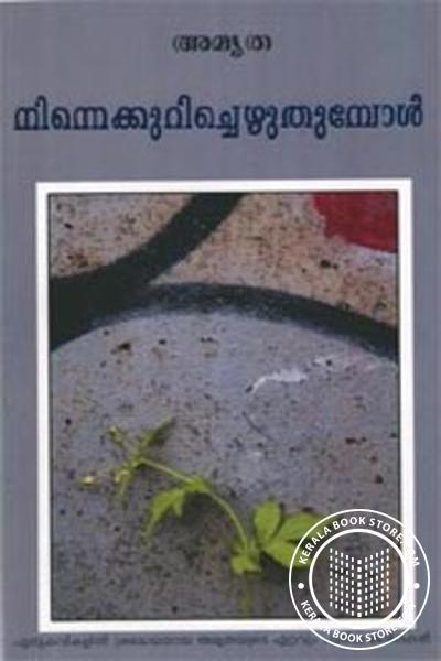 Cover Image of Book Ninnekkurichezhuthumpol