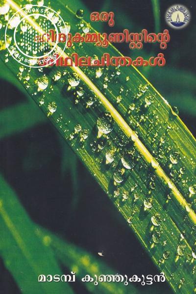 Cover Image of Book ഒരു ഹിന്ദു കമ്മ്യൂണിസ്റ്റിന്റെ ശിഥില ചിന്തകള്