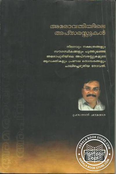 back image of അമരാവതിയിലെ അപ്സരസ്സുകള്