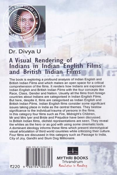 back image of A Visual Rendering of Indians in Indian English Films and British Indian Films