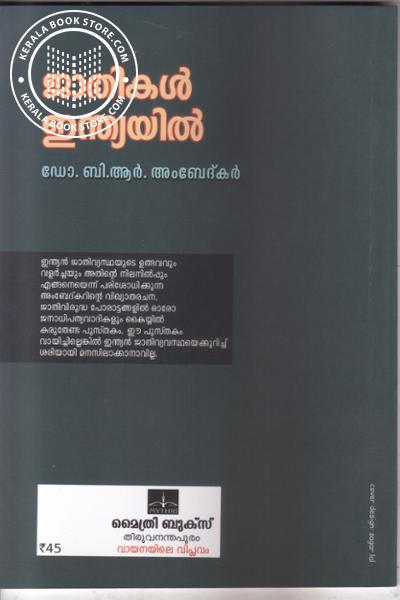 back image of Gathikal Indiayil