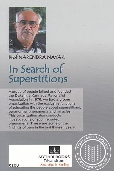 back image of In Search of Superstitions