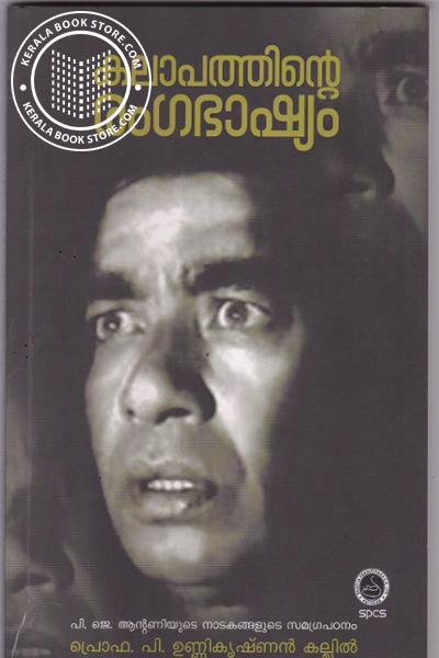 Cover Image of Book Kalaapathinte Rangabhashyam