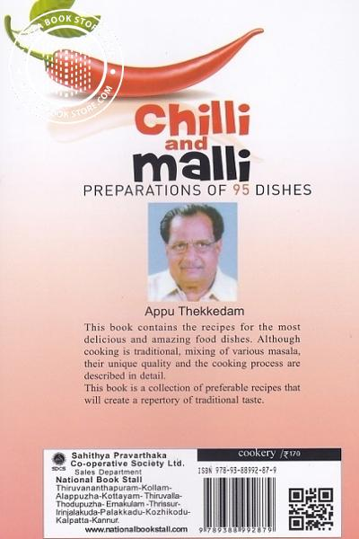 back image of Chilli and Mail Preparations of 95 Dishes