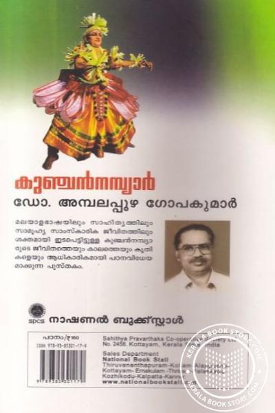 back image of Kunchan Nambiar