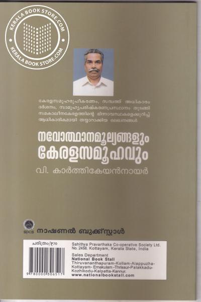 back image of Navodhana Moolyagalum Keralasamoohavum