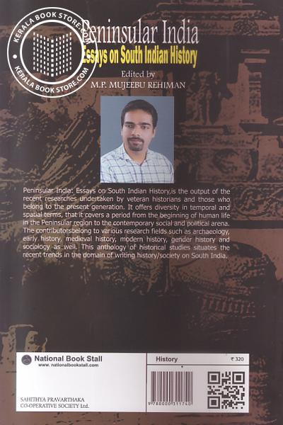 back image of Peninsular India Essays on South Indian History