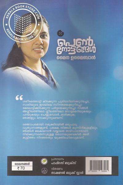 back image of പെണ് നോട്ടങ്ങള്