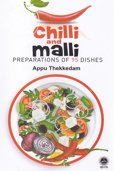 Cover Image of Book Chilli and Mail Preparations of 95 Dishes