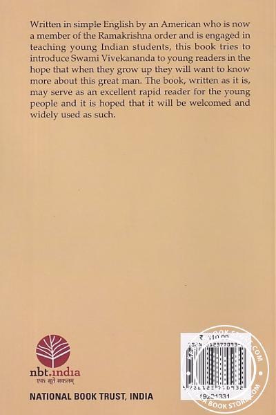 back image of A SimpelLife of Swami Vivekananda