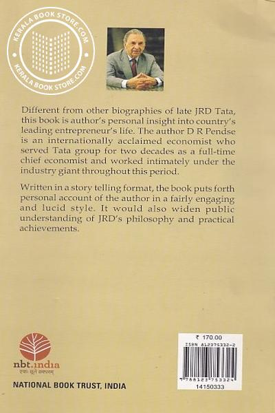 back image of Beyond the Giant Personal Insight into the Life of JRD Tata