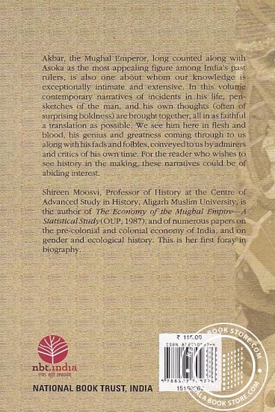 back image of Episodes In The Life Of Akbar Contemporary Records and Reminiscences