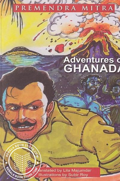 Cover Image of Book Adventures of Ghanada