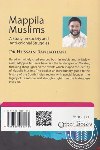 back image of Mappila Muslims A Study on Society and Anti-Colonial Struggles