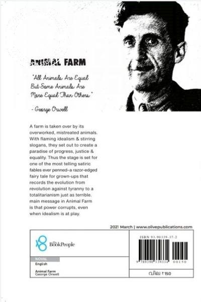 back image of Animal Farm