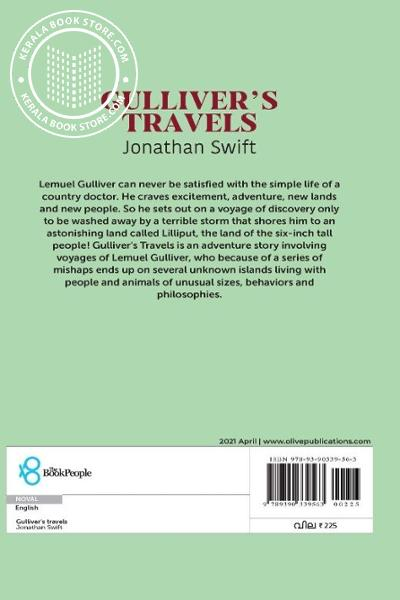 back image of Gullivers Travels