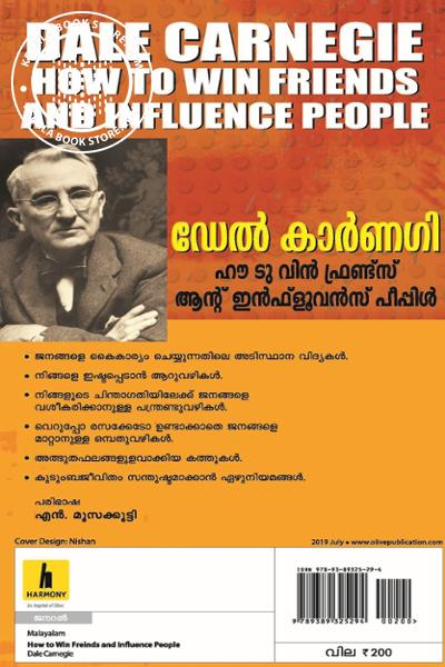 back image of How to win friends and influence People