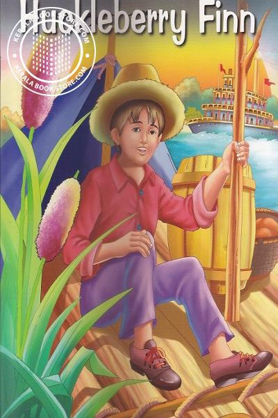 Cover Image of Book Adventures of Huckleberry Finn