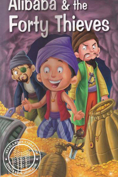 Cover Image of Book Alibaba and The Forty Thieves