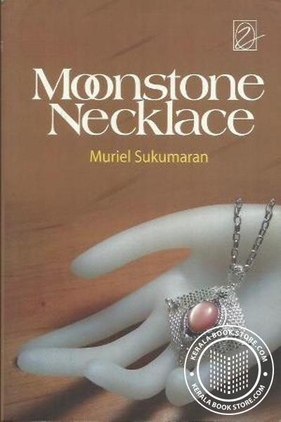 Image of Book Moonstone Necklace
