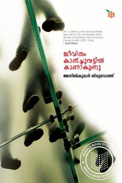 Cover Image of Book Jeevitham Kalchuvattil Kanathakunnu