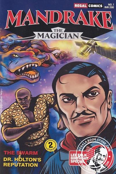 Cover Image of Book Mandrake Volume - 1 The Magician