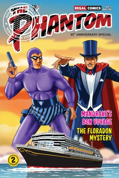 Cover Image of Book The Phantom -7 Mandrakes Bon Voyage The Floradon Mystery