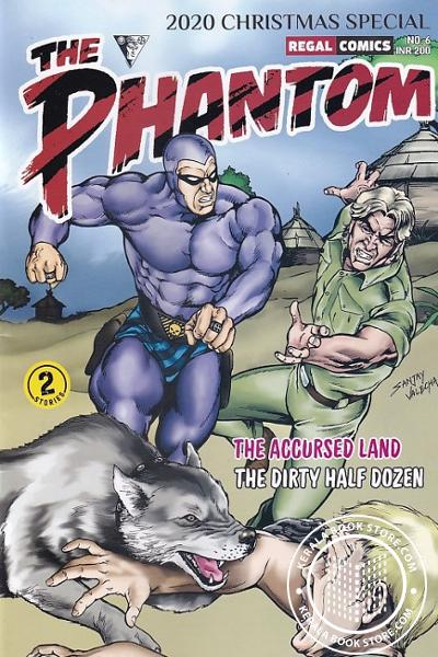 Cover Image of Book The Phantom Vol- 6 -The Accursed Land and The Dirty Half Dozen