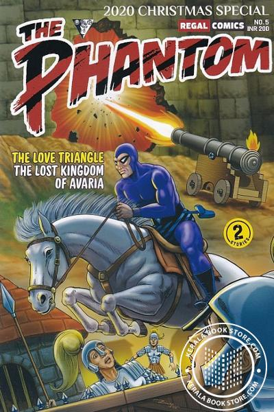 Cover Image of Book The Phanton Vol- 5 -The Love Triangle and The Lost Kingdom of Avaria