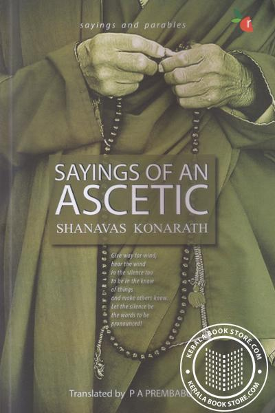 Cover Image of Book Sayings of an Ascetic Sayings and parables