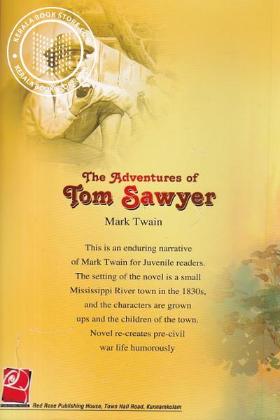 back image of The Adventures of Tom Sawyer