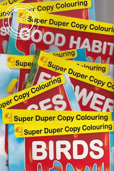 inner page image of Super Duper Copy Colouring - 16 Colour Book Collections for Children