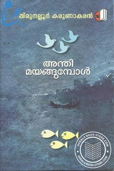 Cover Image of Book അന്തിമയങ്ങുമ്പോള്