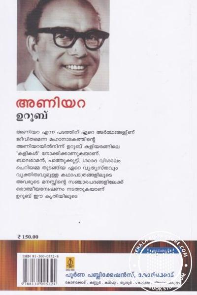 back image of അണിയറ