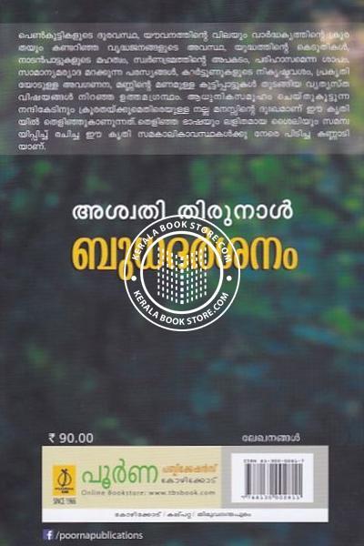 back image of ബുധദര്ശനം